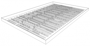 3D view of store