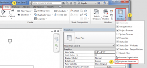 Revit shortcuts