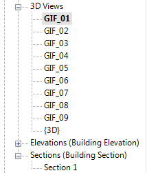 Revit_Project Browser