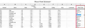 Revit Schedule - Update Key 2