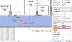 Revit - update key value
