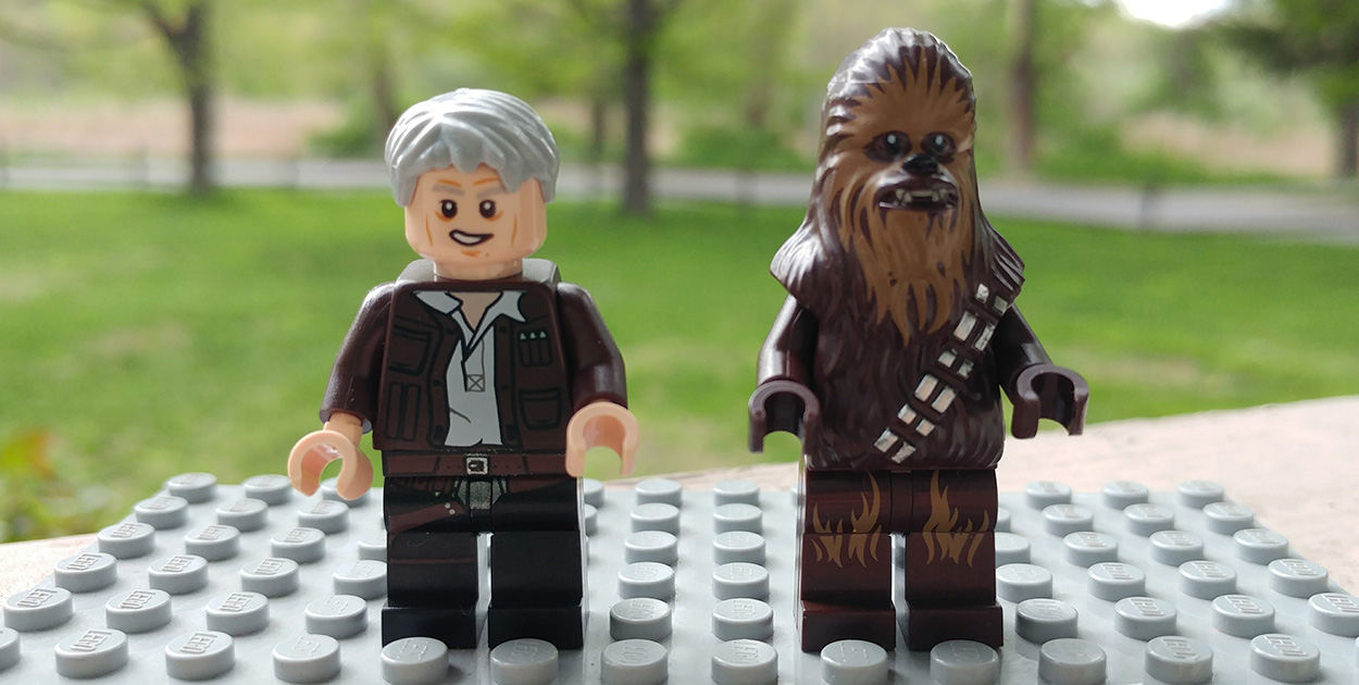 Lego Han and Chewie